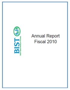 Annual Report 2010 Cover