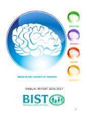 Report cover for BIST's 2016-2017 AGM Report