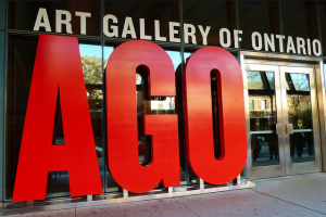 Entrance to the Art Gallery of Ontario