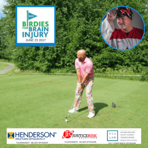 Todd Keirstead and Paul Rosen Birdies for Brain Injury Special Guests