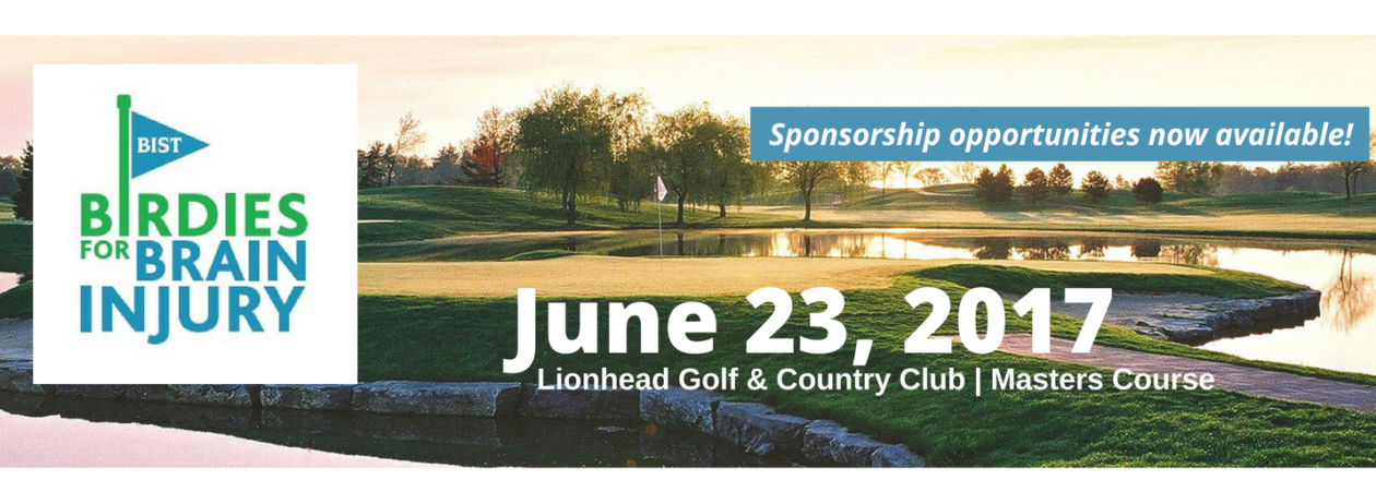 birdies for brain injury sponsorship slider