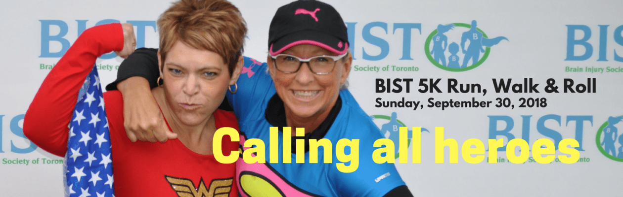 Calling all Heroes: BIST 5K Run, Walk or Roll September 30. 2018