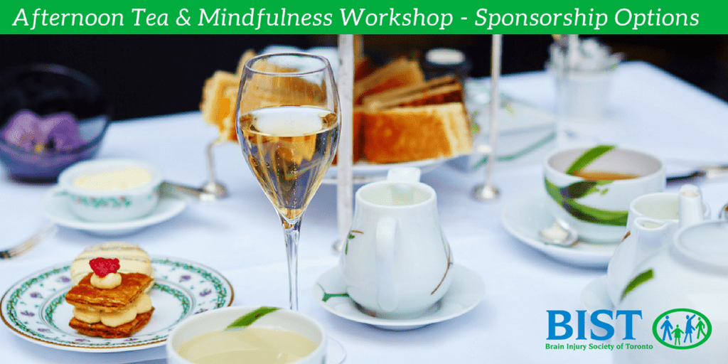 Afternoon Tea and Mindfulness Workshop - Sponsorship Options