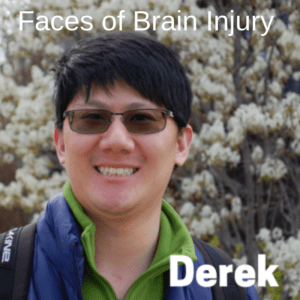 Derek Faces of Brain Injury